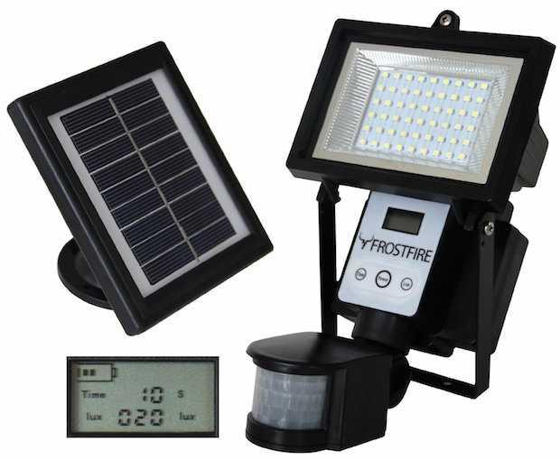 Lampioni da giardino a energia solare idee green - Lampioni da giardino fotovoltaici ...