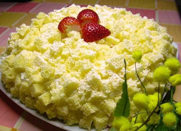 come fare la torta mimosa