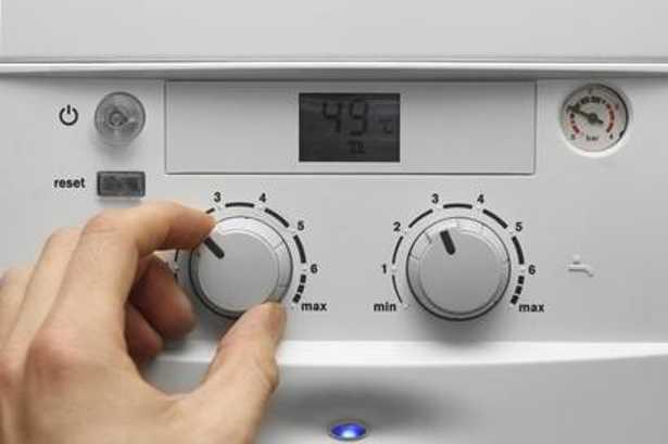 Controllo caldaia