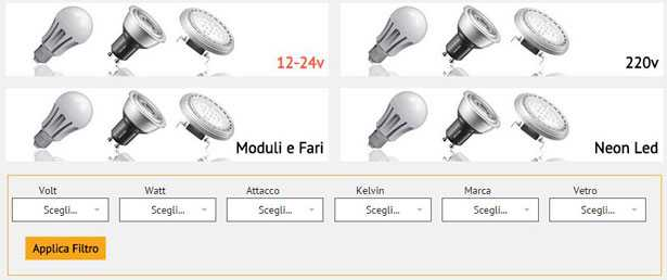 Lampadine led dove acquistarle online idee green for Dove comprare lampadine led online