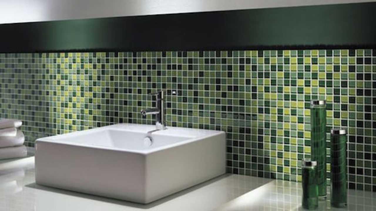 Piastrelle Cucina Da Incollare mosaico adesivo fai da te - idee green