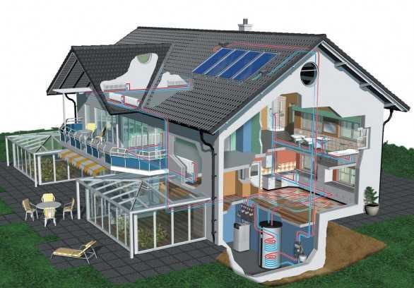 Sistemi di riscaldamento ecosostenibili idee green - Sistemi di riscaldamento casa ...