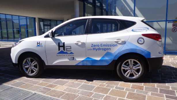 Idrogeno per auto