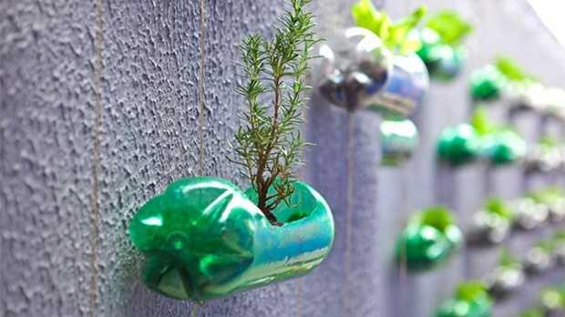 come riutilizzare le bottiglia di plastica