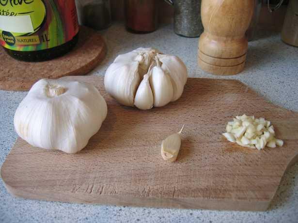 Infuso di aglio