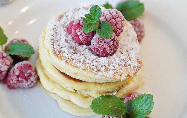 pancake senza burro senza lievito senza latte