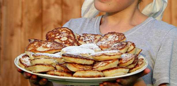 pancake senza uova