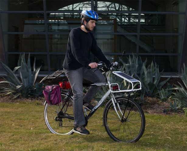 Pannello Solare Portatile Per Bici : Pannelli solari per biciclette