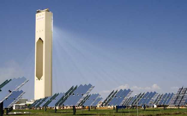 torre solare in spagna