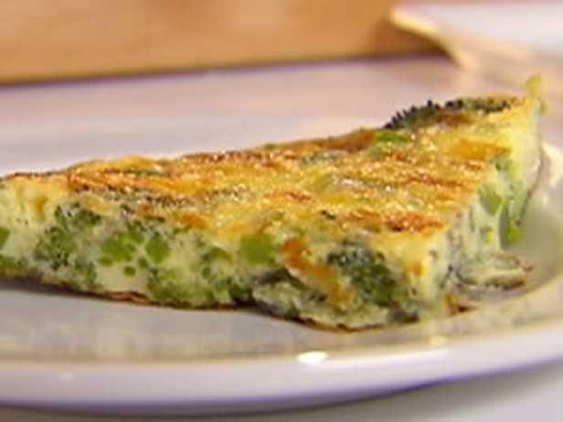 Frittata con broccoli e ricotta