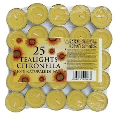 candele di citronella