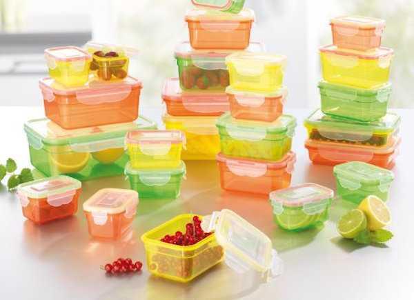 come sgrassare contenitori plastica