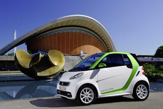 smart elettrica prova su strada