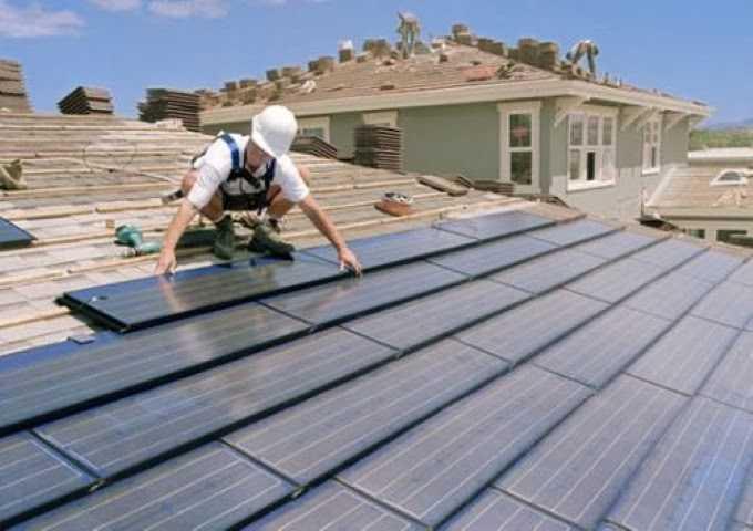 Modello unico per tetto fotovoltaico