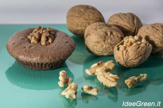 muffin nocciole e cioccolato