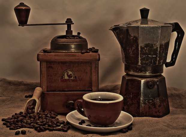 utilizzare caffè avanzato