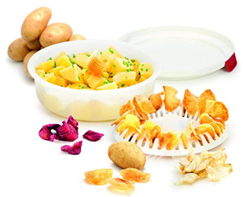 cuoci patatine per microonde