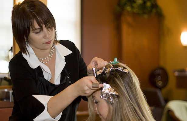 macchie tinture per capelli