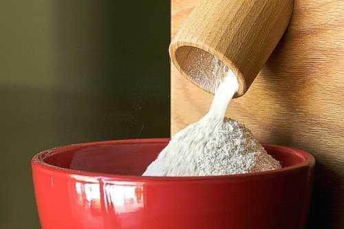 farina fatta in casa