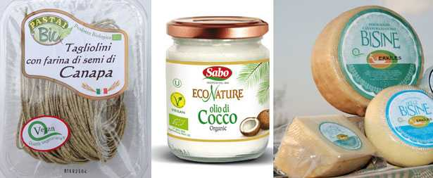 Prodotti vegetariani e vegani certificati
