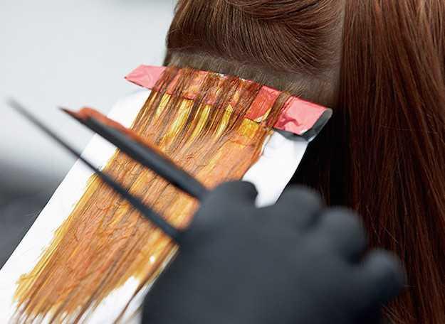 tintura professionale per capelli