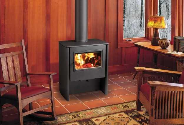 Tipologie di impianti di riscaldamento idee green - Stufa a legna usate ...