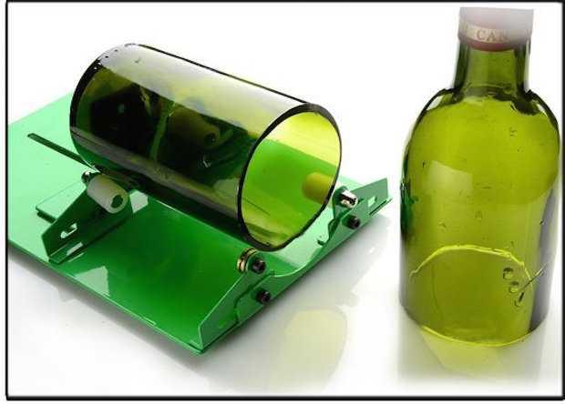 Tagliare Bottiglie Di Vetro.Come Tagliare Una Bottiglia Di Vetro Idee Green