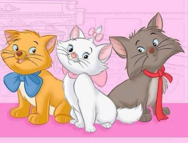 Cartoni animati con gatti: gli Aristogatti