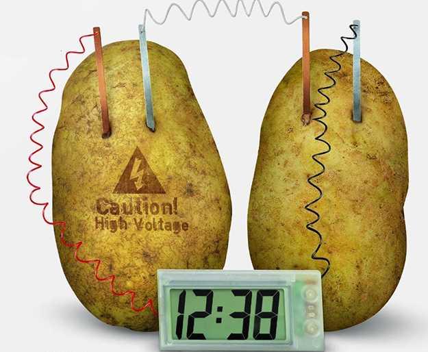 energia dalla patata