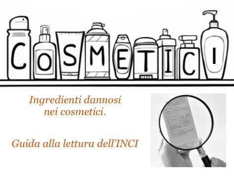 ingredienti dannosi nei cosmetici