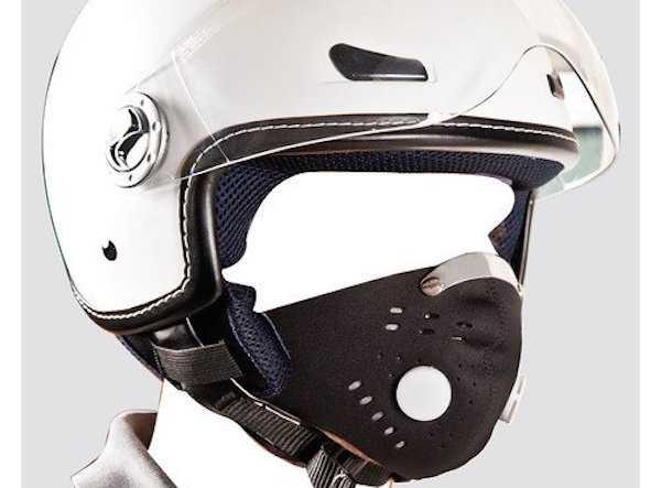 Mascherina antismog per moto