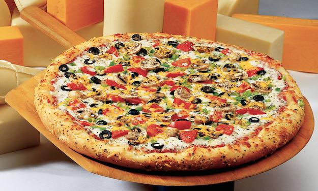 Pizza con farina di ceci