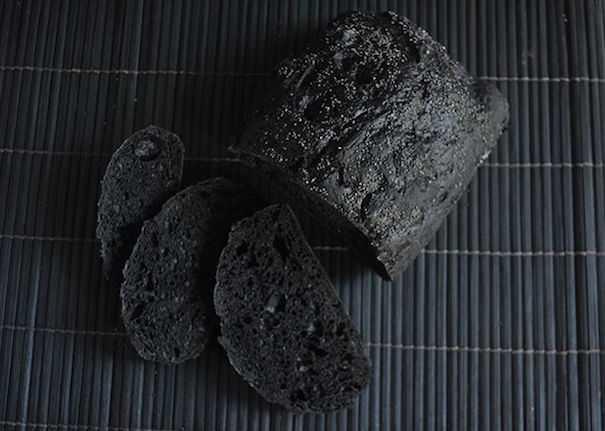 carbone vegetale per pane e pizza
