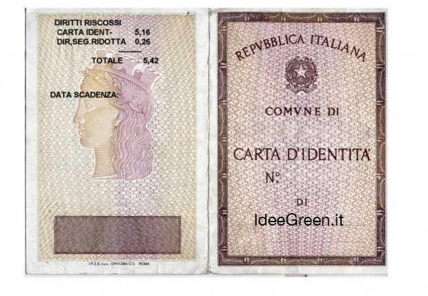 Cosa scrivere sulla fotocopia della carta di identit for Carta di credito per minorenni