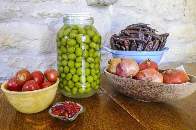 olive con soda caustica