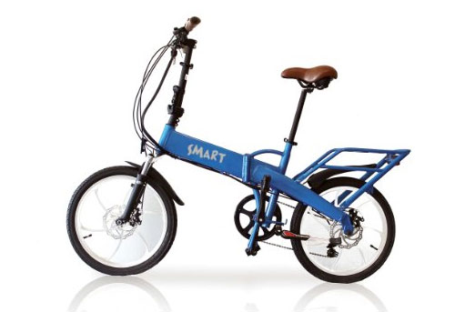 Bicicletta pieghevole a pedalata assistita Smart