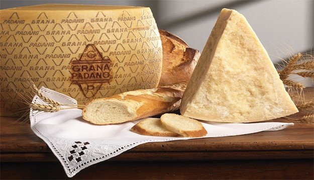grana padano proprieta ingredienti