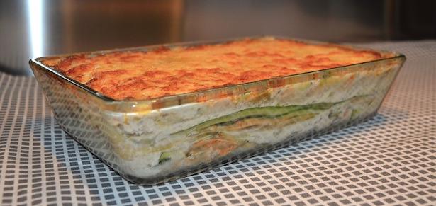 lasagne vegetariane bianche