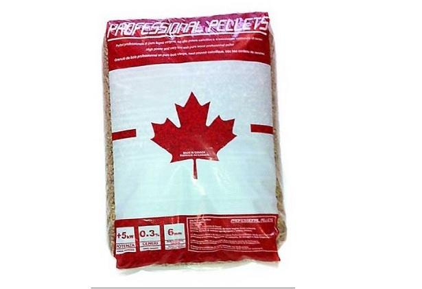 pellet in offerta canadese