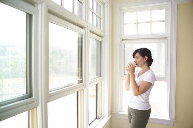 Come pulire il vetro idee green - Vetri a specchio per finestre ...