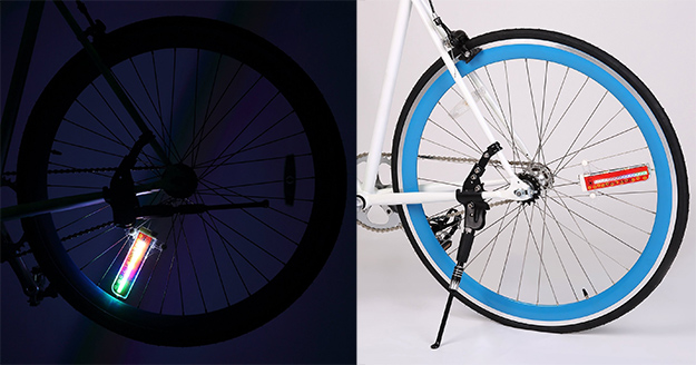 led ruota bici