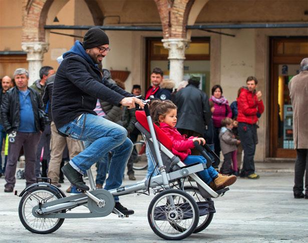Passeggino bicicletta multiuso