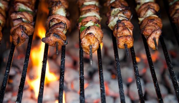 pulire barbecue