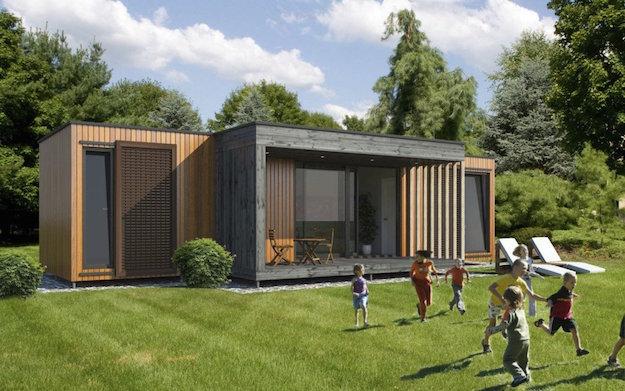 Casa prefabbricata in legno idee green for Case in legno svantaggi