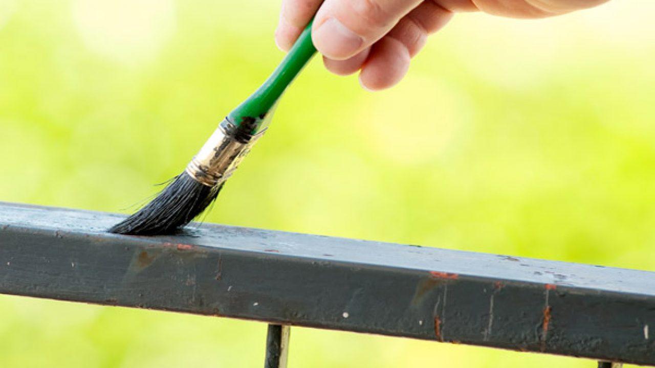 Ringhiere In Ferro Usate come verniciare il metallo - idee green