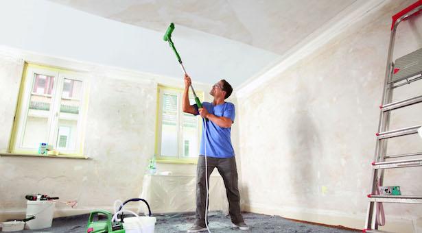 Come pitturare il soffitto idee green for Materiali da costruzione della casa