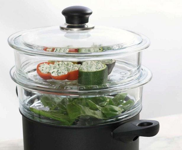come cucinare a vapore idee green