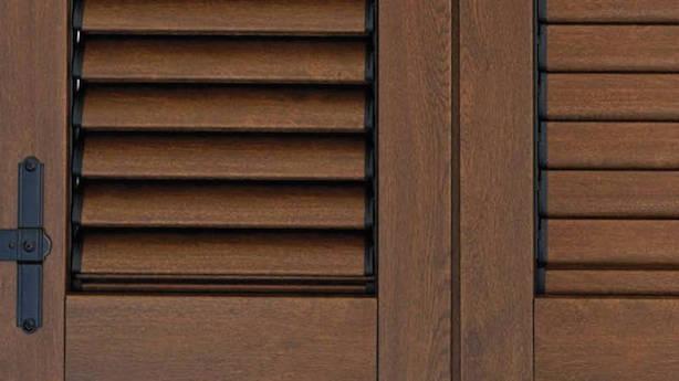 Restaurare imposte di legno rovinate idee green - Porta balcone pvc prezzi ...
