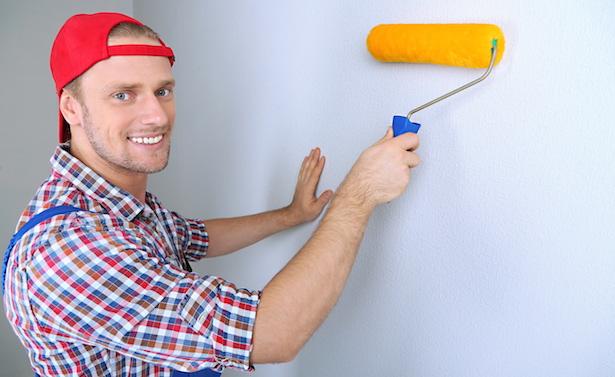 Come pitturare una parete - Idee Green