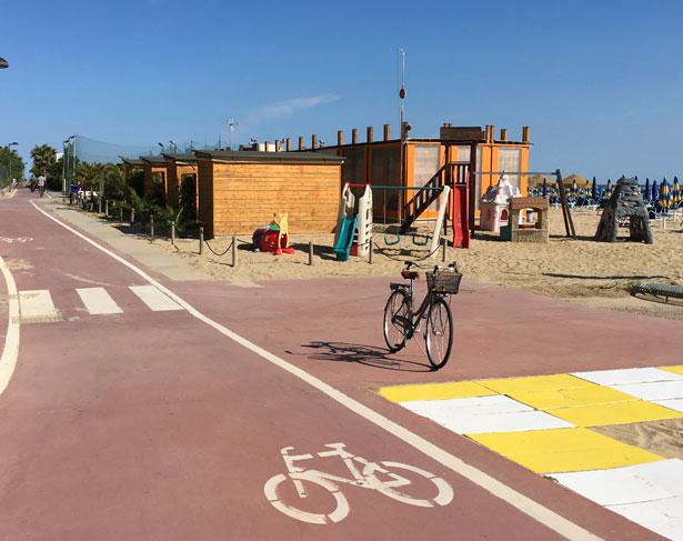 Pista ciclabile Pesaro - Fano